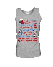 I will Teach  Unisex Tank tile