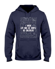 I WISH LIFE WAS AS SIMPLE AS CALCULUS Hooded Sweatshirt thumbnail