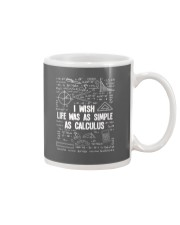 I WISH LIFE WAS AS SIMPLE AS CALCULUS Mug thumbnail