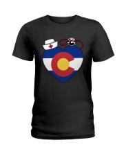 Colorado Nurse Ladies T-Shirt thumbnail