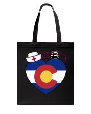 Colorado Nurse Tote Bag front