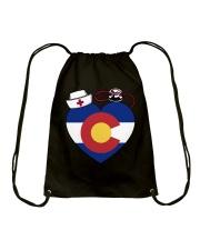 Colorado Nurse Drawstring Bag thumbnail