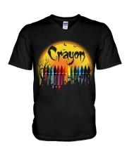 CRAYON V-Neck T-Shirt thumbnail