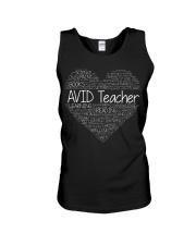 Avid Teacher Unisex Tank thumbnail