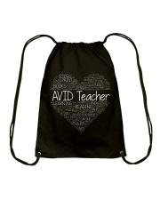 Avid Teacher Drawstring Bag thumbnail