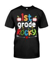 1st grade rocks Classic T-Shirt front