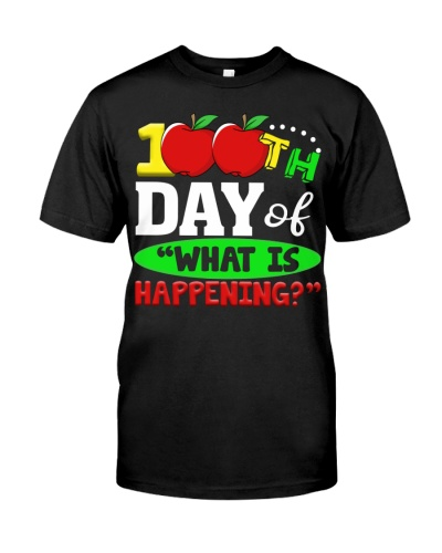 100TH DAY OF WHAT IS HAPPENING
