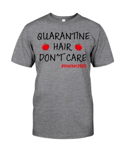 quarantine hair don't care teacher2020