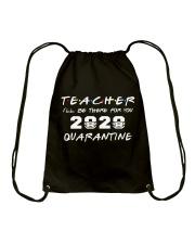 Teacher 2020 Quarantine Drawstring Bag thumbnail