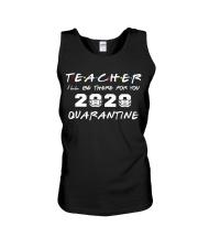 Teacher 2020 Quarantine Unisex Tank thumbnail