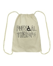 PHYSICAL THERAPY Drawstring Bag thumbnail