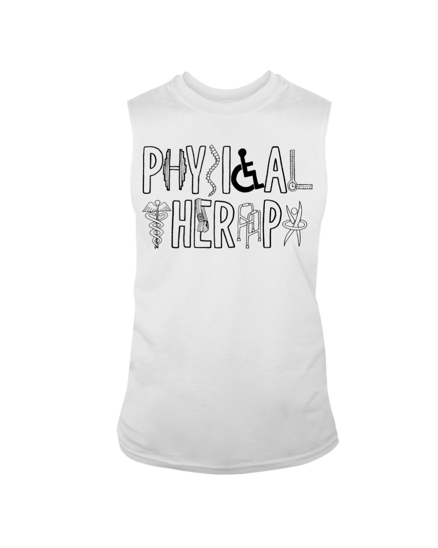 PHYSICAL THERAPY Sleeveless Tee