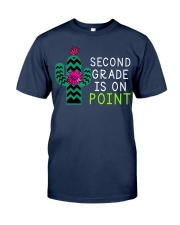 Second grade is on point Classic T-Shirt tile