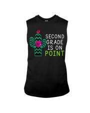 Second grade is on point Sleeveless Tee tile