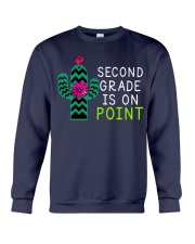 Second grade is on point Crewneck Sweatshirt thumbnail
