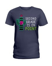 Second grade is on point Ladies T-Shirt thumbnail