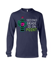 Second grade is on point Long Sleeve Tee thumbnail