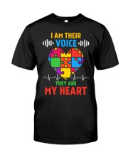 Autism Teacher Classic T-Shirt front