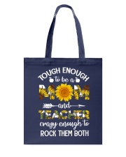 to be a Mom and Teacher Tote Bag thumbnail
