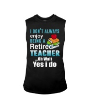 Retired Teacher Sleeveless Tee thumbnail
