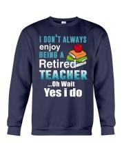 Retired Teacher Crewneck Sweatshirt thumbnail