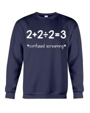 Confused Screaming Crewneck Sweatshirt thumbnail