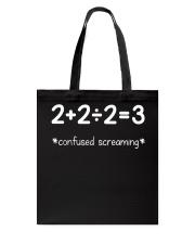 Confused Screaming Tote Bag thumbnail
