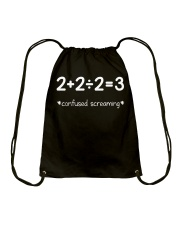 Confused Screaming Drawstring Bag front
