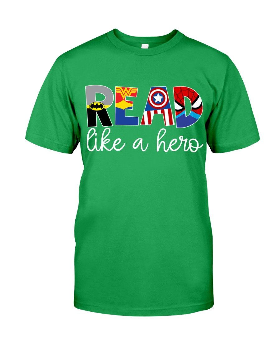 READ LIKE A HERO Classic T-Shirt