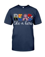 READ LIKE A HERO Classic T-Shirt tile