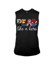 READ LIKE A HERO Sleeveless Tee thumbnail