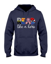 READ LIKE A HERO Hooded Sweatshirt thumbnail