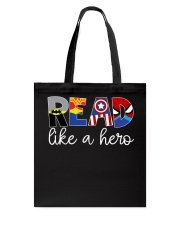 READ LIKE A HERO Tote Bag thumbnail