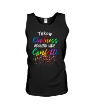 Throw kindness around like confetti Unisex Tank thumbnail