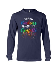 Throw kindness around like confetti Long Sleeve Tee thumbnail