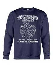 Perfect Gift - for Teacher Dad Crewneck Sweatshirt thumbnail