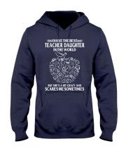 Perfect Gift - for Teacher Dad Hooded Sweatshirt thumbnail