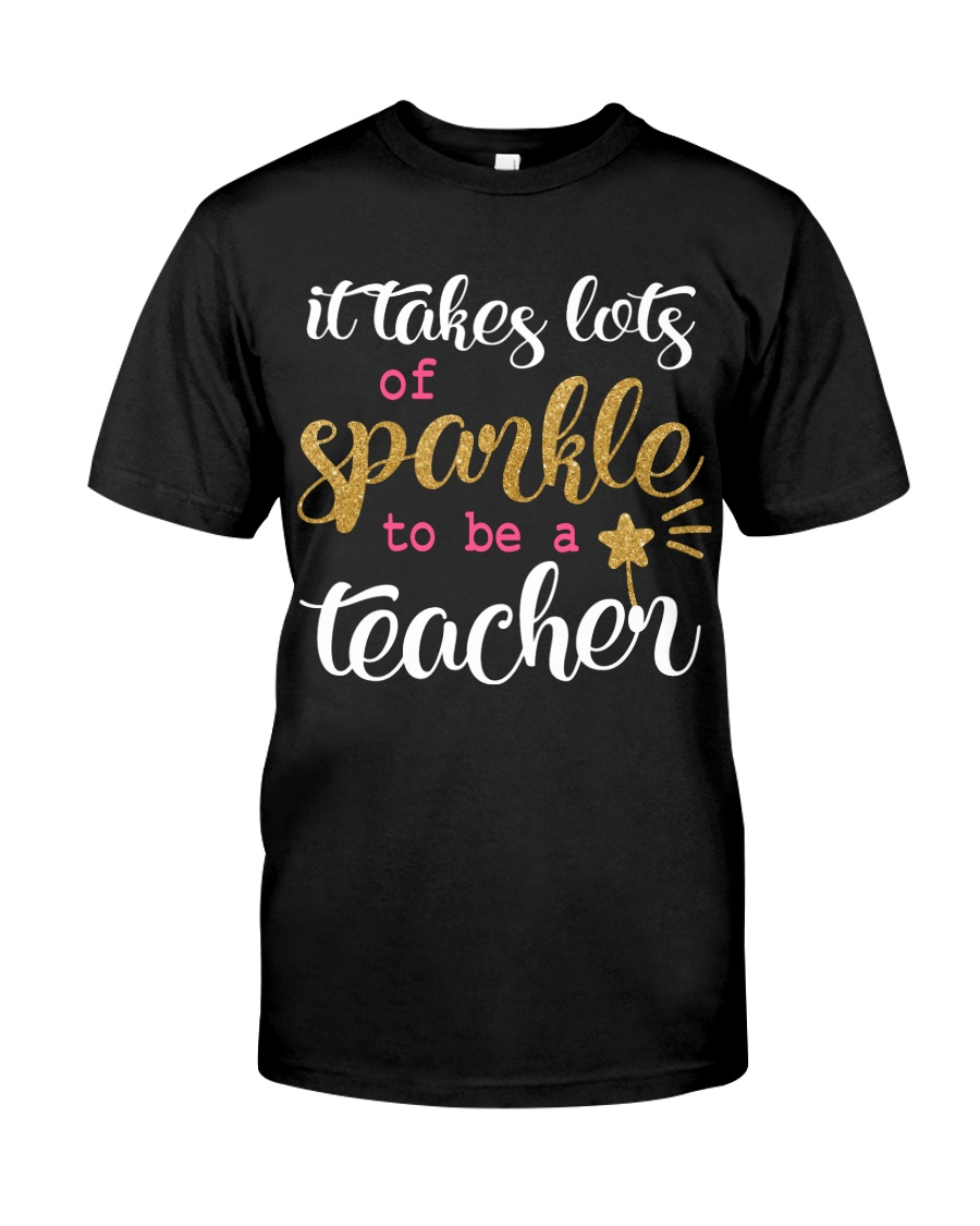 Sparkle Teacher Classic T-Shirt