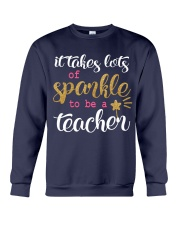 Sparkle Teacher Crewneck Sweatshirt thumbnail