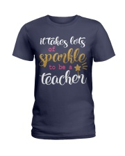Sparkle Teacher Ladies T-Shirt thumbnail