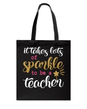 Sparkle Teacher Tote Bag thumbnail