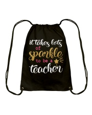 Sparkle Teacher Drawstring Bag thumbnail