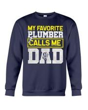 Plumber calls me Dad Crewneck Sweatshirt thumbnail