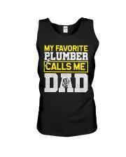 Plumber calls me Dad Unisex Tank thumbnail