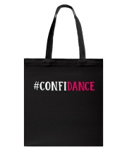 CONFIDANCE Tote Bag tile