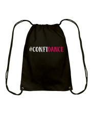 CONFIDANCE Drawstring Bag tile