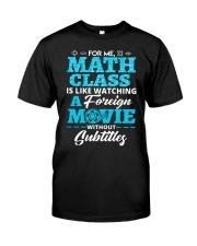 Math Class Classic T-Shirt front