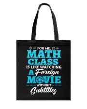 Math Class Tote Bag thumbnail