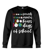 24 HOURS 100 DAYS OF SCHOOL Crewneck Sweatshirt thumbnail