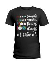 24 HOURS 100 DAYS OF SCHOOL Ladies T-Shirt thumbnail